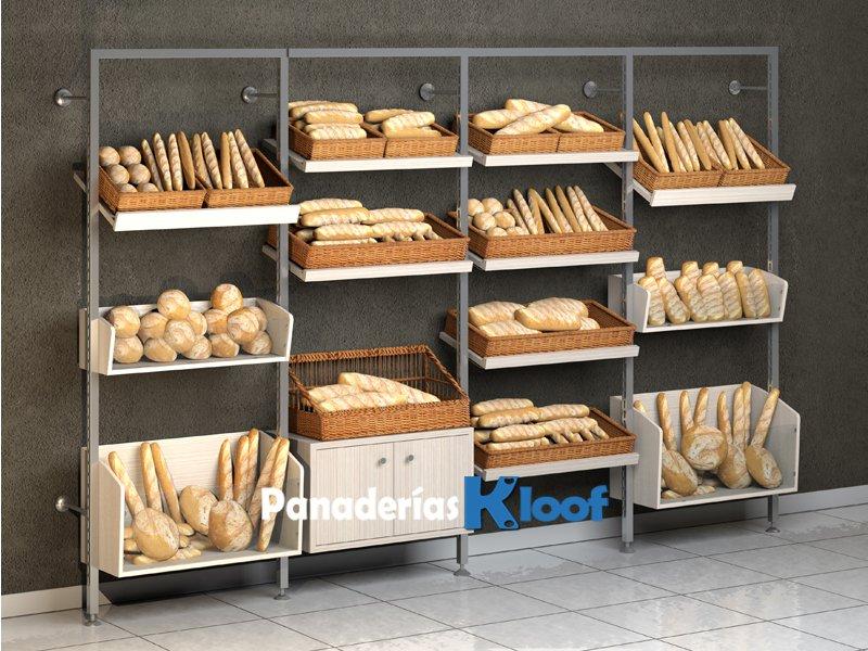 Estanterías de panaderia